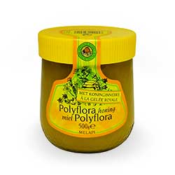 Polyflora honey enriched solid
