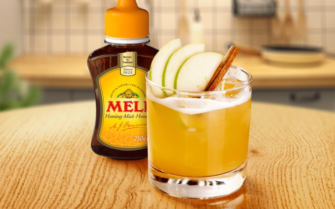 Mocktail pomme-cannelle