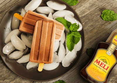 Chocolade fudge ijslolly's