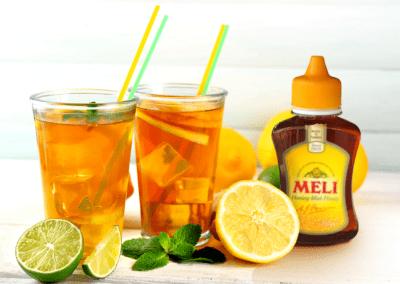 Iced Tea met honing