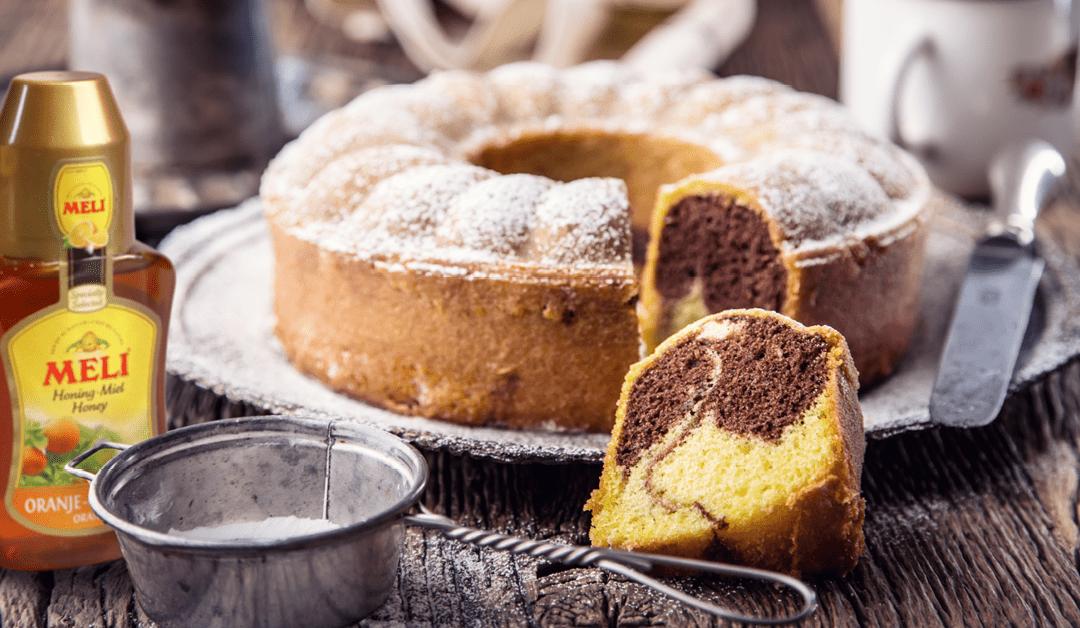 Marmercake met honing