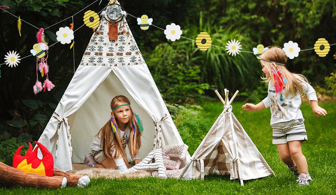 Décorez votre jardin pour le grand jour avec une guirlande zozotante !