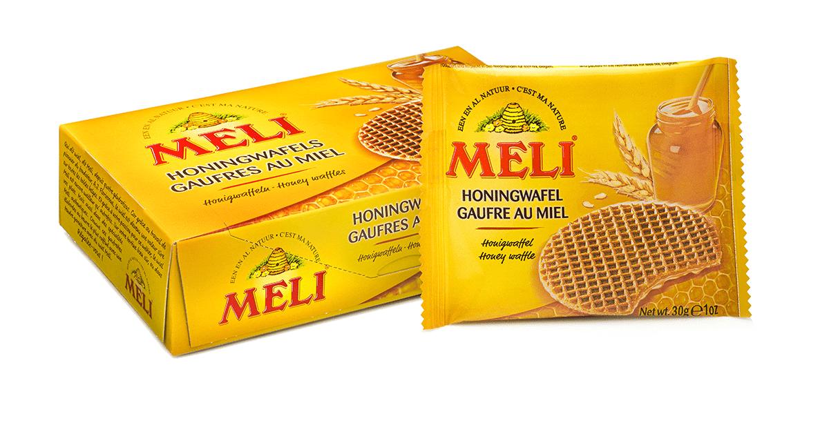Gaufres fourrées au miel