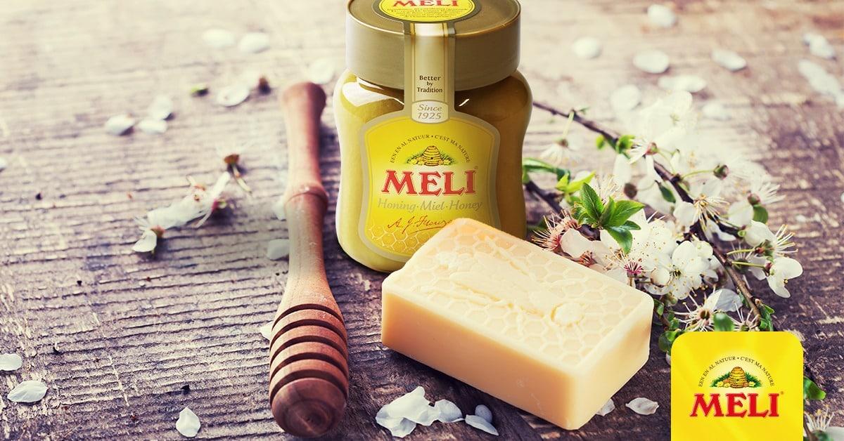 Maak eenvoudig je eigen honing-melkzeep