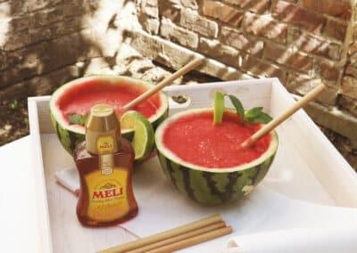 Frisse watermeloenmocktail