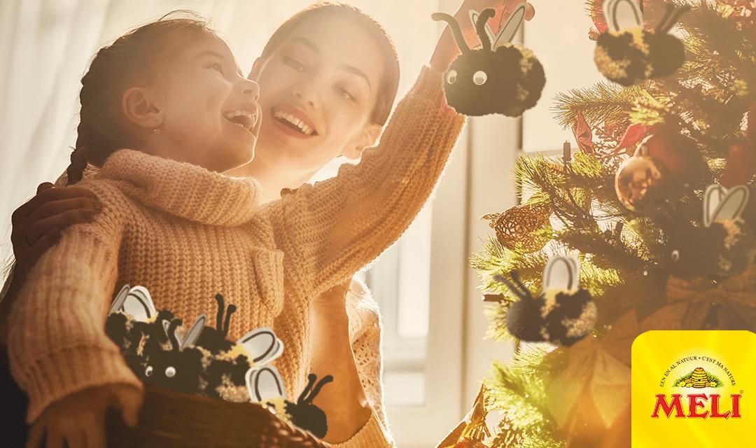 Décorez votre sapin de Noël avec des abeilles