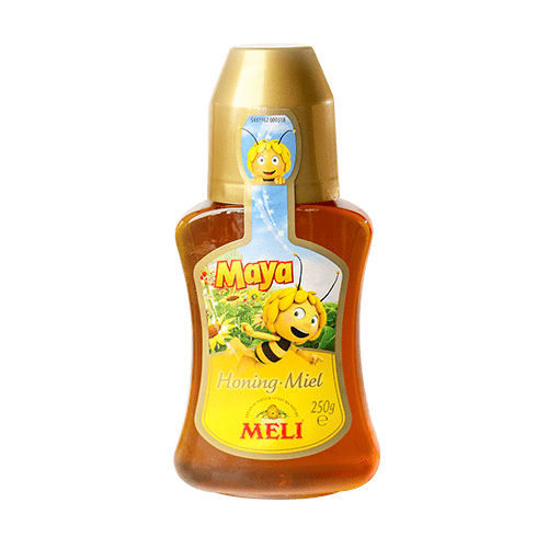 Maya honey in squeeze bottle