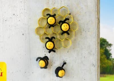 Maak je eigen bijenkorf