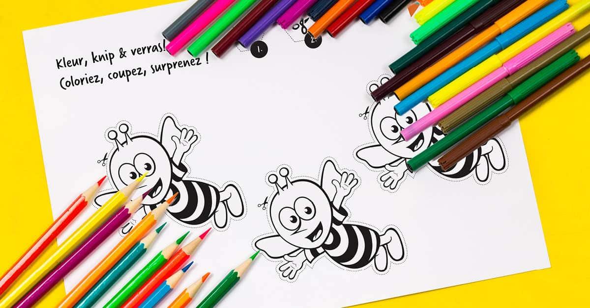 Créez une abeille d'avril !