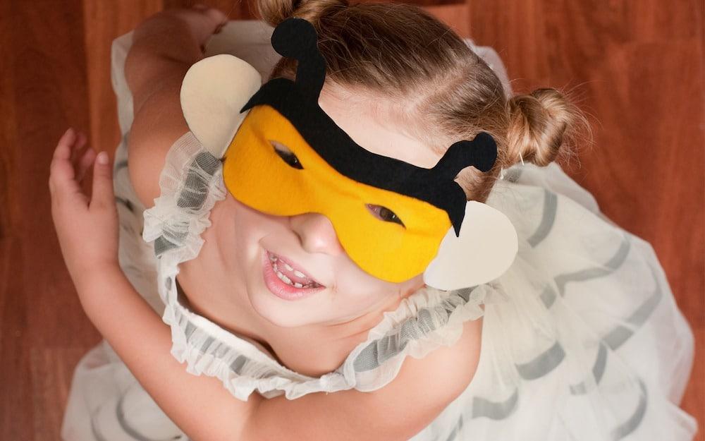 Comment faire un masque d'abeille ?