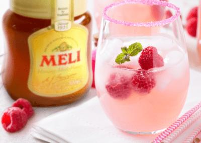 Mocktail: Raspberry Bee's Knees
