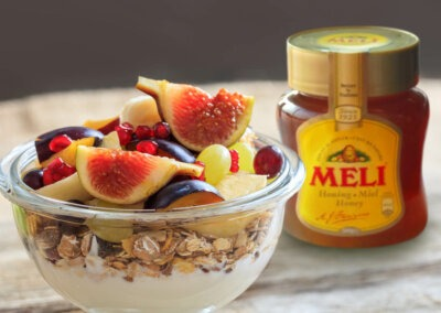 3 tussendoortjes met Meli honing