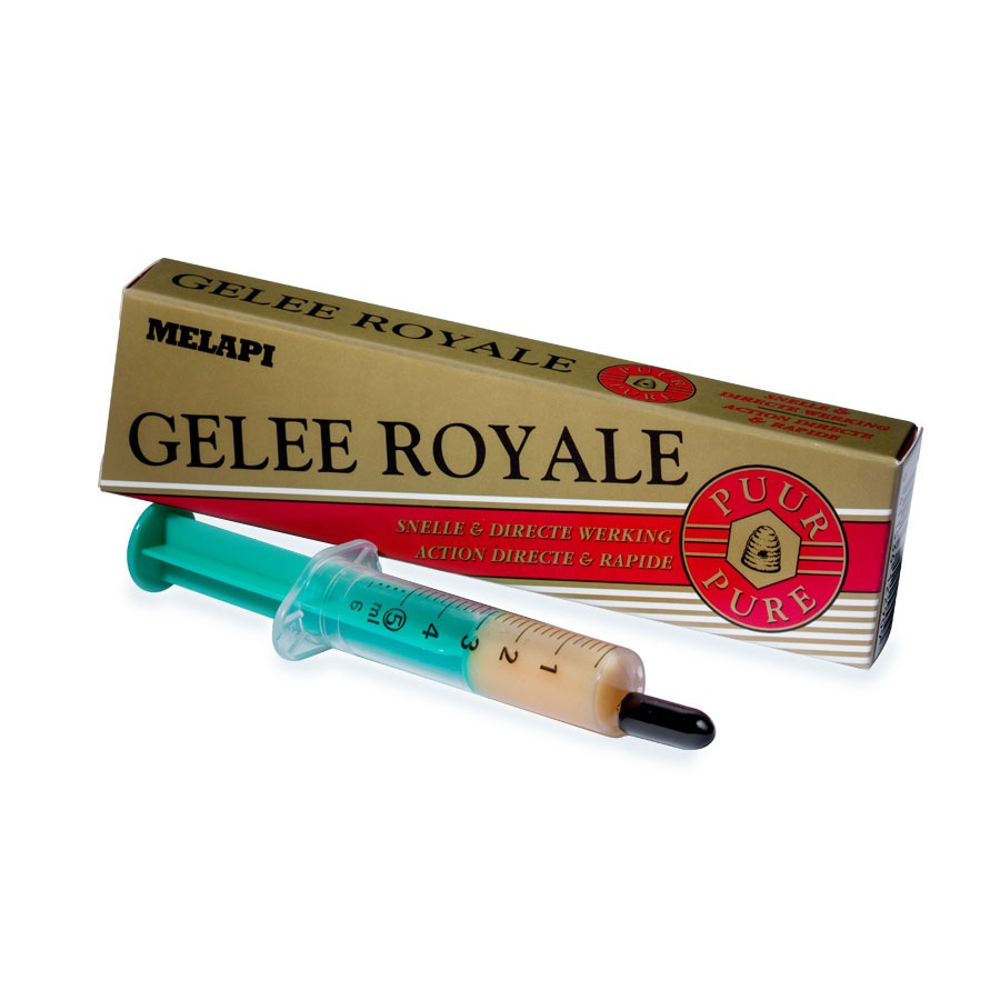 Fresh royal jelly in dosing tube