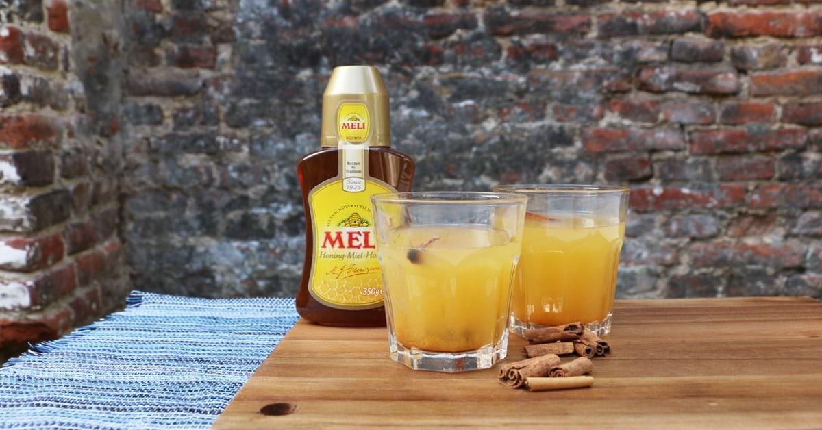 Thé au miel, orange et cannelle