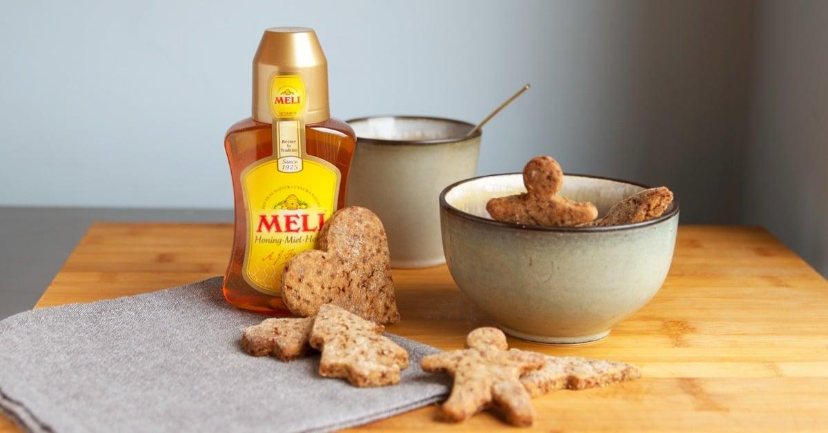 Gingerbread koekjes met honing