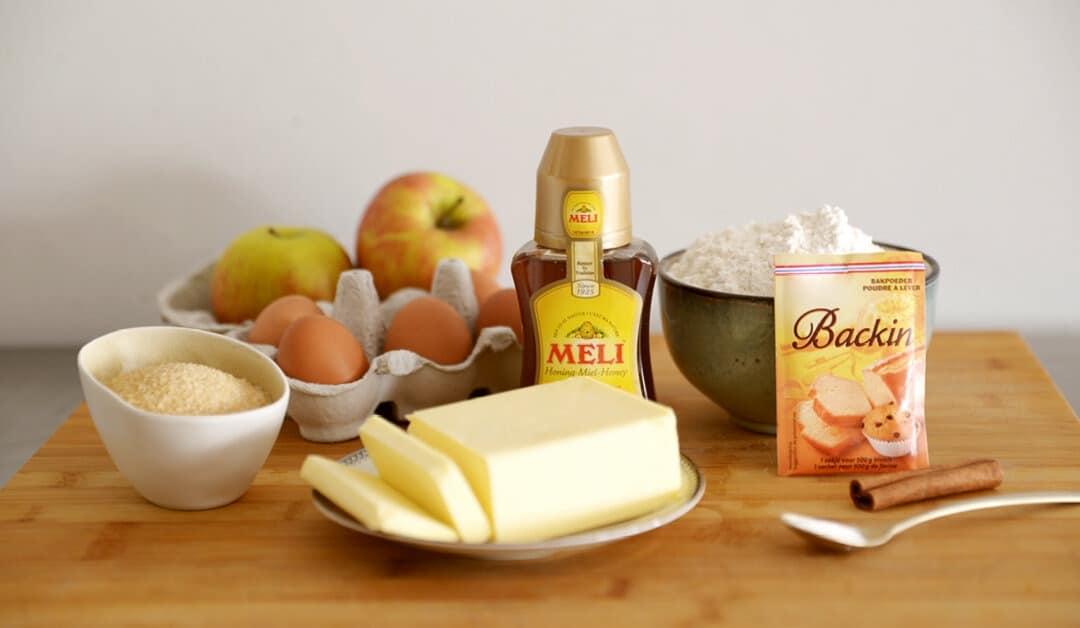 Gâteau de Saint-Valentin à la pomme et au miel
