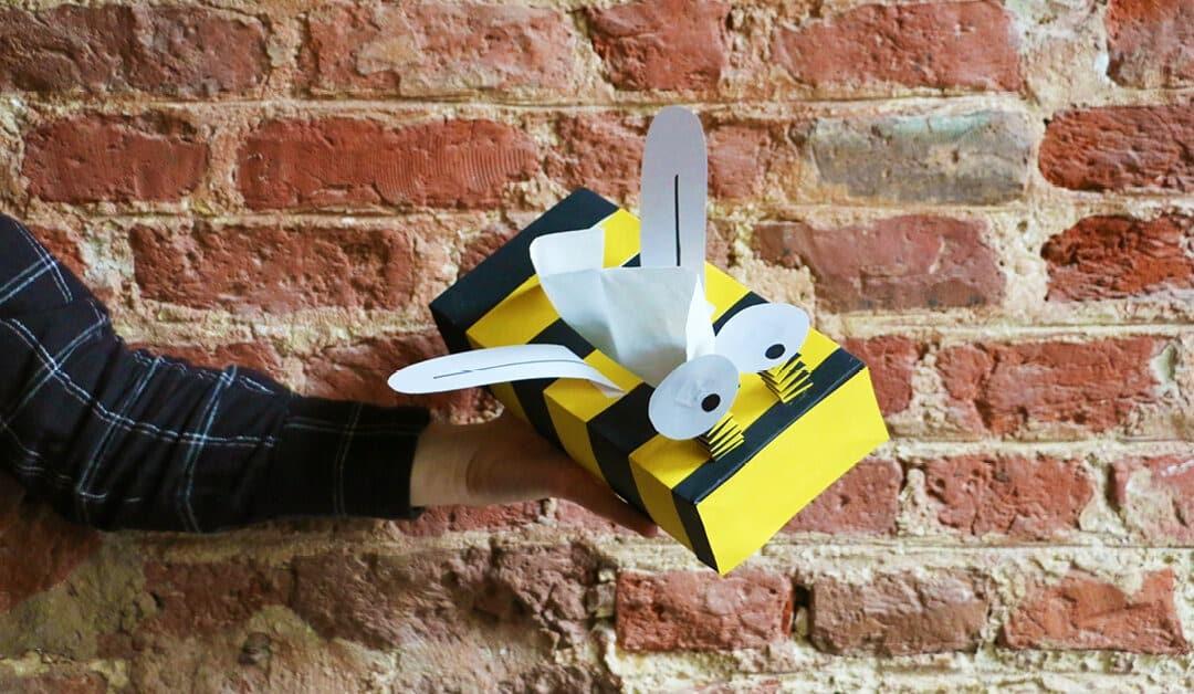 Happy tissuebox voor vrolijke verkoudheden
