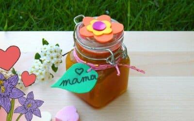 Fabrique un soin exfoliant dans un joli pot pour la fête des mères
