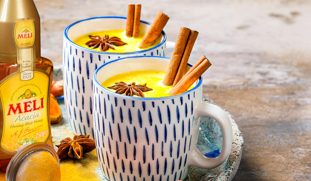 Kurkuma latte of golden milk