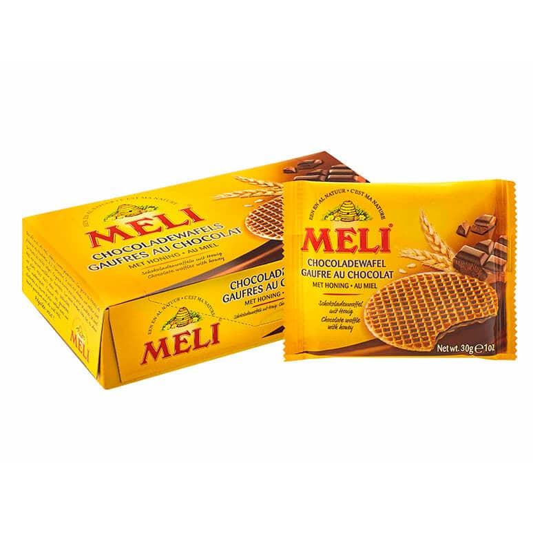 Gaufres fourrées au miel et au chocolat belge