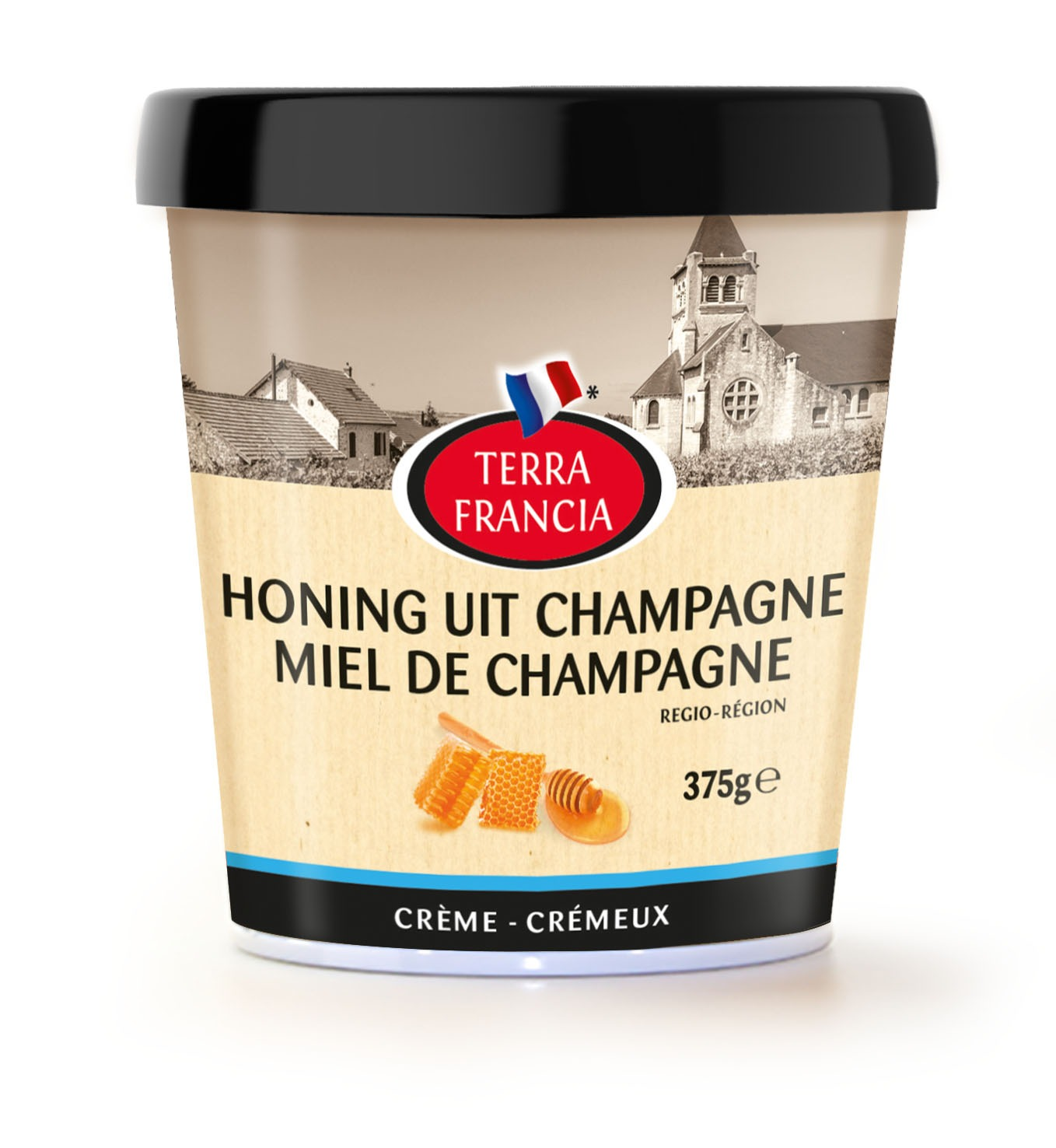 Honey from the Champagne region