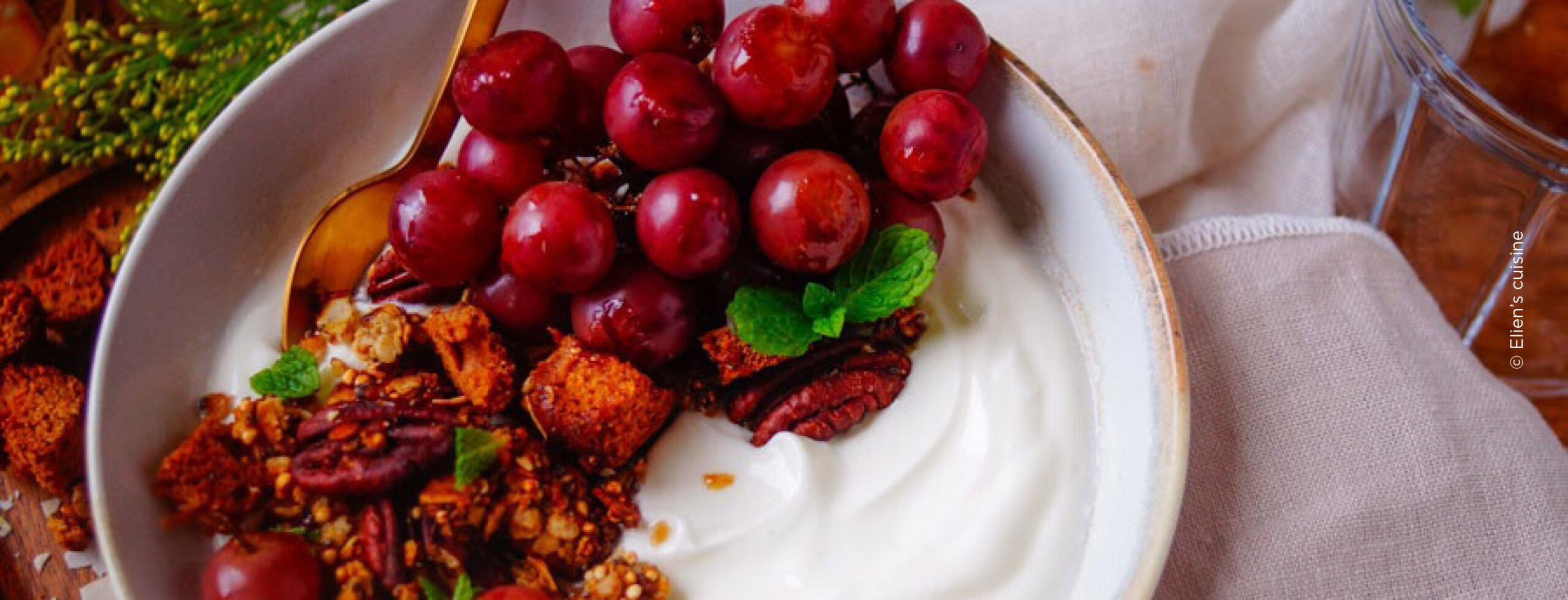 Granola met honingkoek