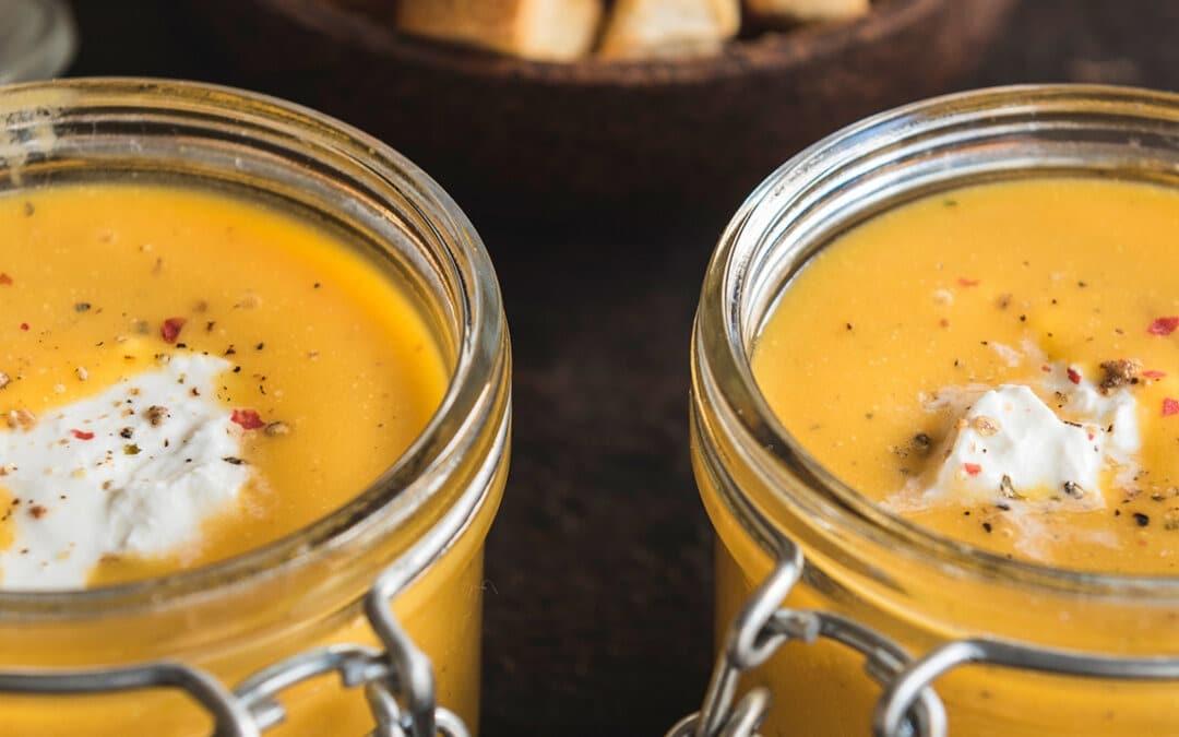 Soupe de carottes à la marocaine