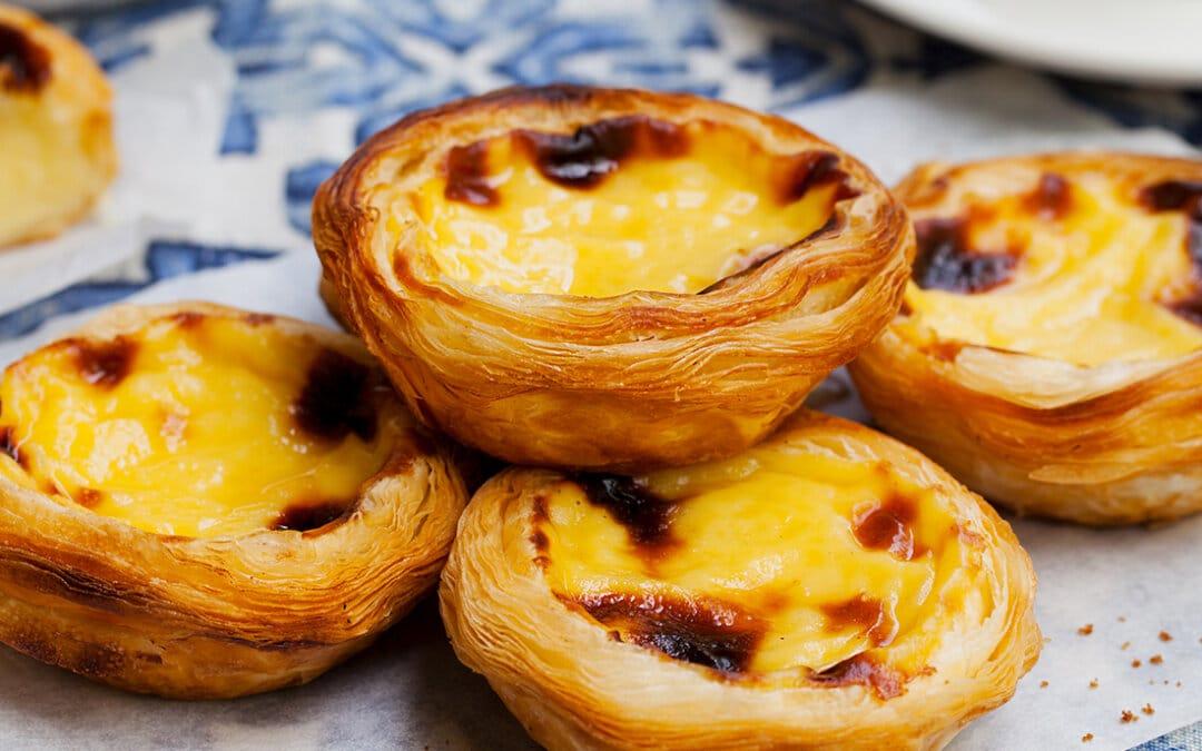 Pastéis de Belém (Portugese roomtaartjes)