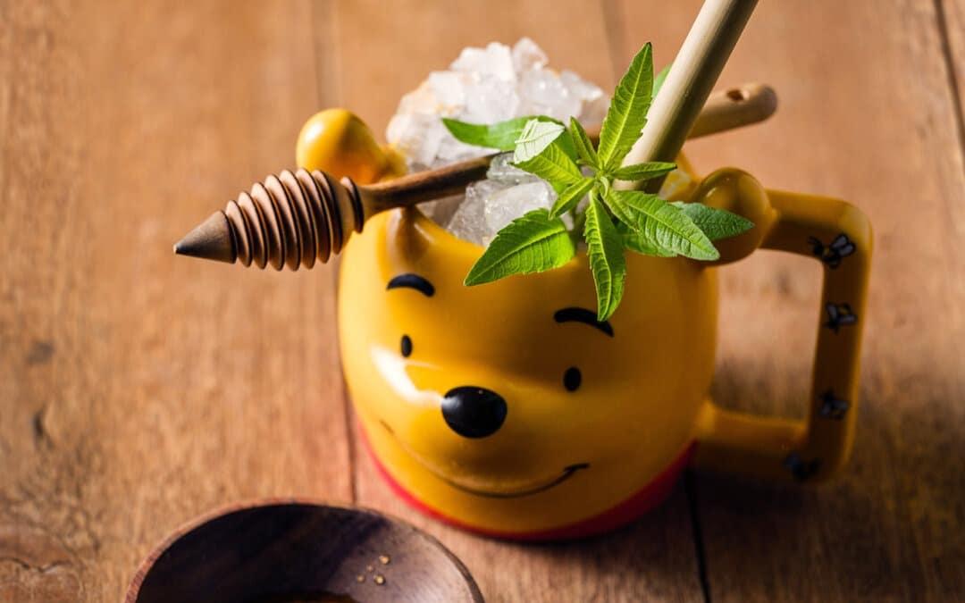 Cocktail rafraîchissant à la verveine citronnelle